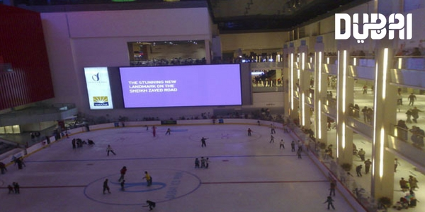 dubai ice rink for kids