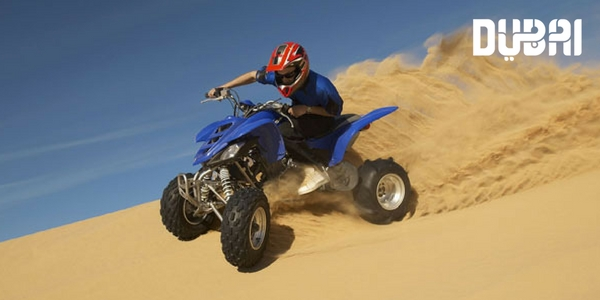 desert quad biking with kids