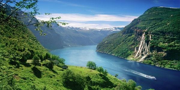Geiranger-fjords