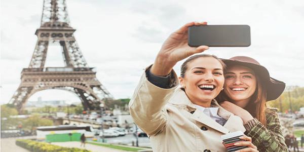 Eiffel-selfie